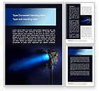 Careers/Industry: Studio Spotlight Word Template #10255