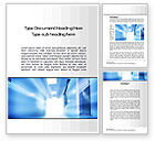 Medical: Light at the End of Corridor Word Template #10259
