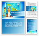 Careers/Industry: Holiday-Makers Word Template #10262