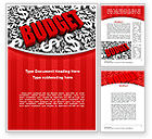 Financial/Accounting: Government Budget Word Template #10293