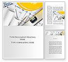 Careers/Industry: Drawings Word Template #10313