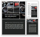 Careers/Industry: Car Interior Design Word Template #10319
