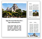Construction: Himeji Castle Word Template #10321