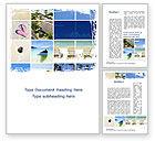 Careers/Industry: Resort Presentation Word Template #10334