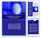 Financial/Accounting: Stock Market Pie Chart Word Template #10348