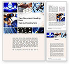 Business Concepts: Creative Business Word Template #10362