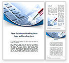 Financial/Accounting: Financial Calculations Word Template #10367