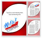 Education & Training: Career Word Template #10383