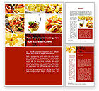 Food & Beverage: Pasta Recipes Word Template #10426