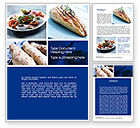 Food & Beverage: Cuisine Word Template #10437
