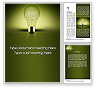 Business Concepts: Profit Making Idea Word Template #10470