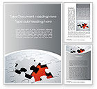 Business Concepts: The Last Piece Word Template #10481