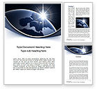 Global: A New Day Word Template #10484