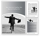 Business Concepts: Balancing Word Template #10527