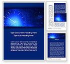 Abstract/Textures: Tijd Concept In Digitale Word Template #10537