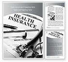 Financial/Accounting: Health Care Insurance Word Template #10542