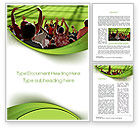People: Football Fans Word Template #10560
