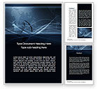 Global: Business Background Word Template #10573