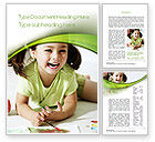 People: Young Artist Word Template #10576