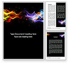 Abstract/Textures: Spectrum Fog Word Template #10577