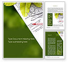 Nature & Environment: Front Yard Plan Word Template #10583