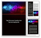 Abstract/Textures: Light Color Spots Word Template #10624