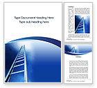 Careers/Industry: Career Ladder Word Template #10632