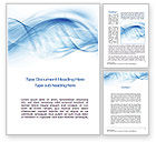 Abstract/Textures: Blue on White Word Template #10634
