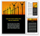 Technology, Science & Computers: Wind Generators Word Template #10643