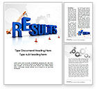 Business Concepts: Building Results Word Template #10645