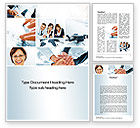 People: Cohesive Team Word Template #10649
