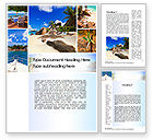Careers/Industry: Summer Collage Word Template #10673