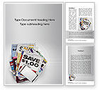 Financial/Accounting: Coupons Word Template #10677
