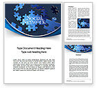 Careers/Industry: Building Social Network Word Template #10682
