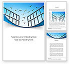 Business Concepts: Open Iron Gate Word Template #10757