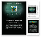 Consulting: SWOT Analysis Word Template #10768
