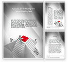 Careers/Industry: Winning Competition Word Template #10781