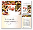 Food & Beverage: Charcuterie Recipes Word Template #10785