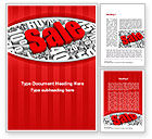 Careers/Industry: Clearance Sale Word Template #10791