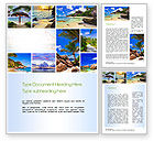 Nature & Environment: Seychelles Word Template #10802