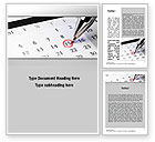 Financial/Accounting: Tax Time Word Template #10811