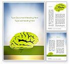 Medical: 大脳皮質 - Wordテンプレート #10815