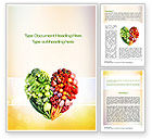 Food & Beverage: Eat Healthy Word Template #10831