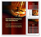 Legal: Modèle Word de échelles de justice #10837