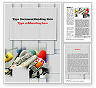 Careers/Industry: Press Conference Microphones Word Template #10858