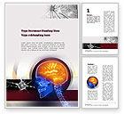 Medical: 脳神経外科 - Wordテンプレート #10860