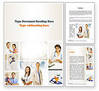 People: Pediatricians Word Template #10875