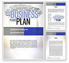 Consulting: Business Plan Word Cloud Word Template #10888