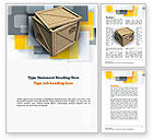 Construction: Crate Word Template #10893