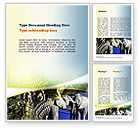 Nature & Environment: African Fauna Word Template #10894